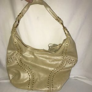 Viaseae gold/yellow Shoulder purse